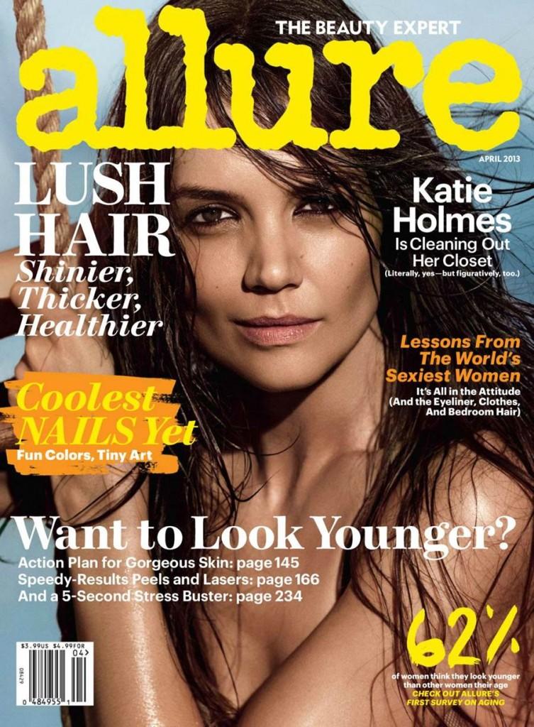 American actress Katie Holmes