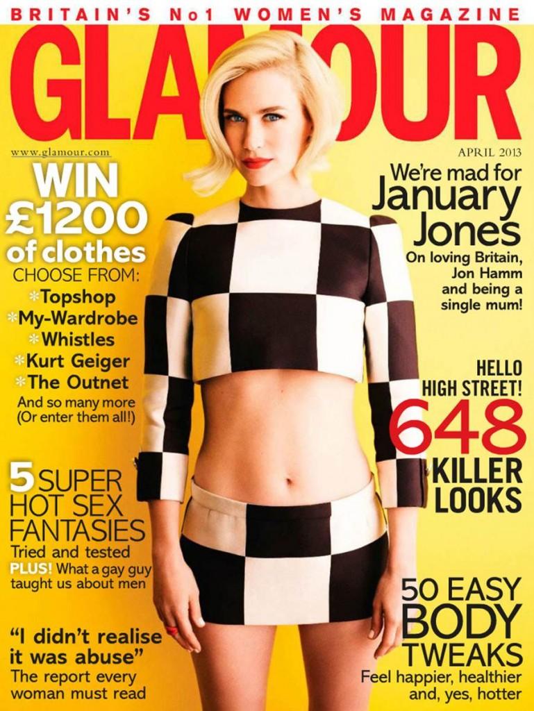 American model and actress January Jones