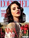 American singer Lana Del Rey