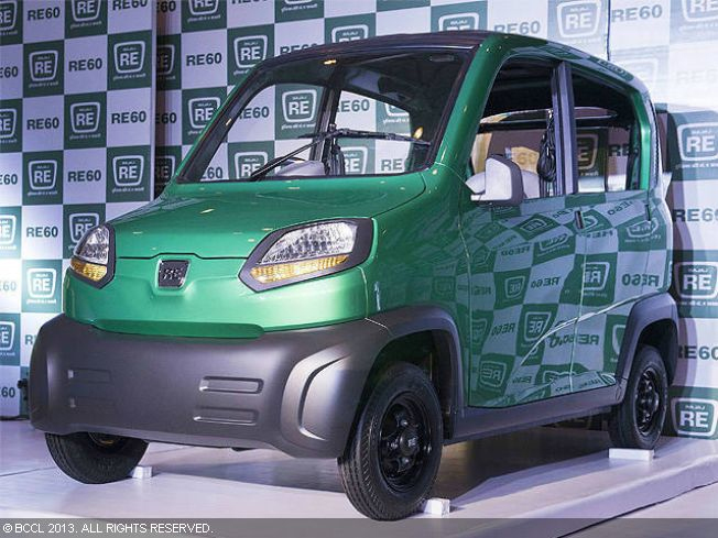 Bajaj Auto is all set to launch its RE60 - the first quadricycle for India - with the government giving its in-principle nod to this new category.