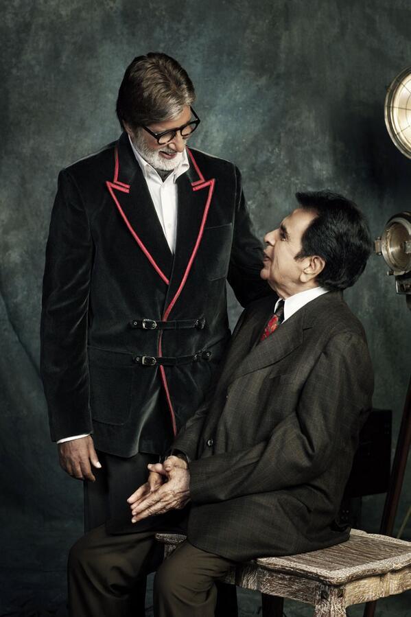 Amitabh Bachchan, Dilip Kumar  Courtesy: Jitesh Pillai/Jatin Kampani/Filmfare