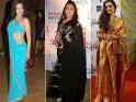 Ugliest Celebrity Saris