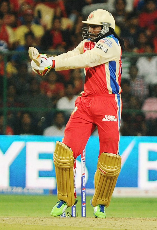 His unbeaten innings of 175 is the highest score in all forms of T20 cricket. (Photo: BCCL)