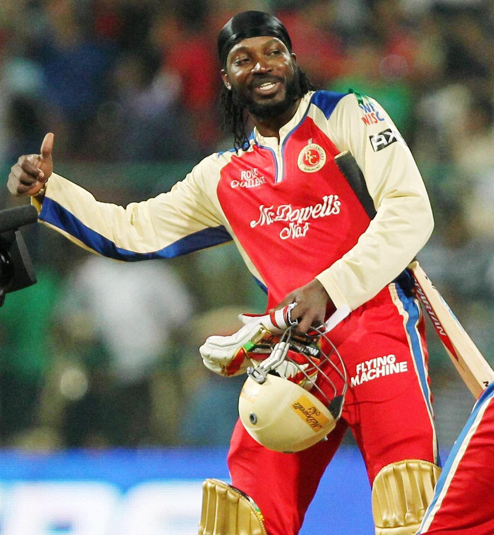 Chris Gayle Slams Fastest IPL Century