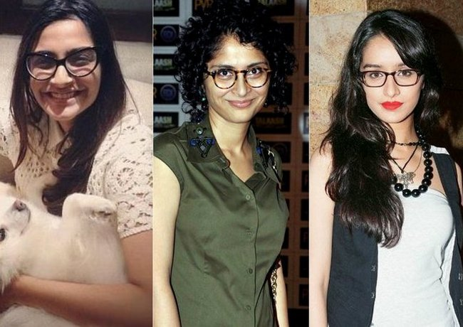 The librarian look really works for many Bollywood celebs. Here are some of them who are making a bold style statement with their glasses...