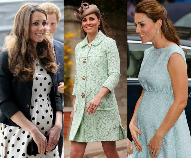 Kate Middleton teaches us that pregnancy is never an obstacle for a fashionista.