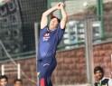 Delhi Daredevils' David Warner drops a catch of Rajasthan Royals' Rahul Dravid
