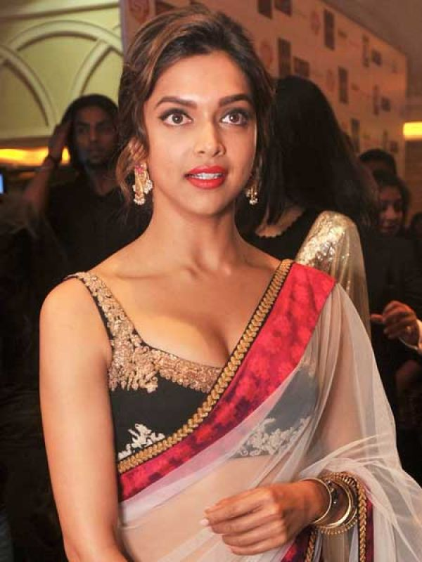 "Deepika Padukone: Fashion designer Aniket Satam says, ""A plunging neckline suits only those with a perfect neck. Very deep necklines tend to look vulgar."" He adds, ""If you have a fuller bust, team your v-necked choli with a semi-transparent pallu for modesty."" We think Deepika has got it perfectly right."