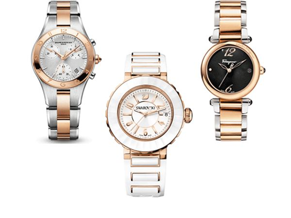 Dynamic Duos: Two-Tone Timepieces