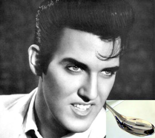 Elvis Presley's Water And Hair