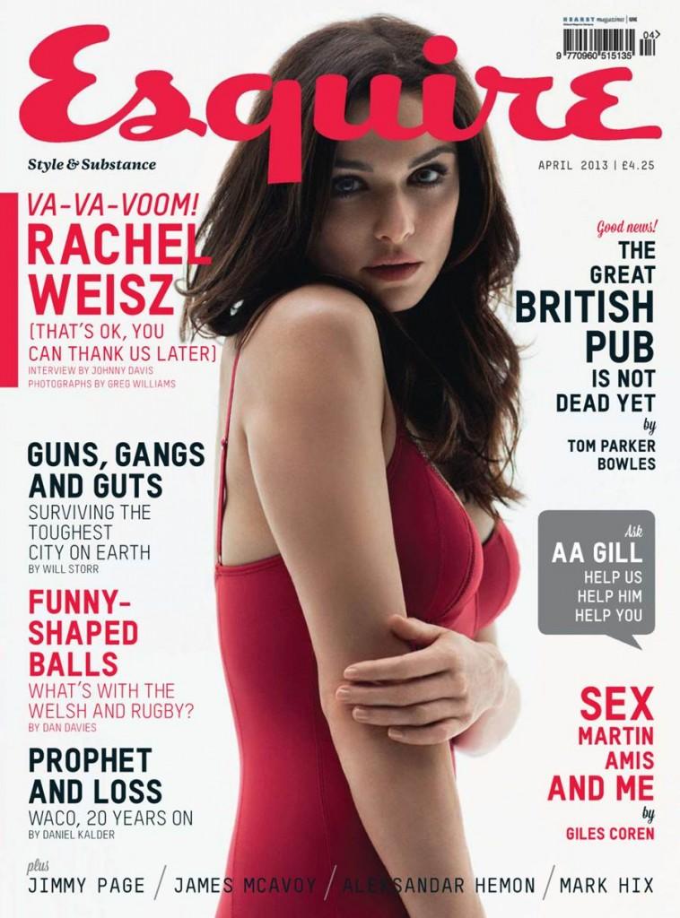 English actress and model Rachel Weisz