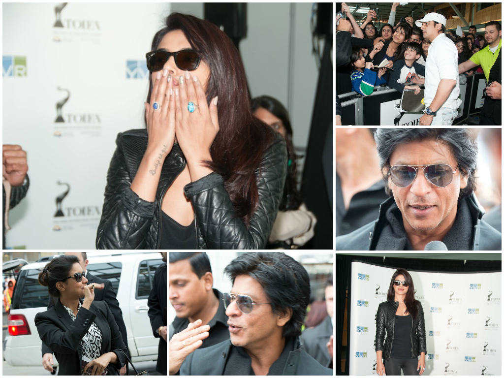 The arrival of top stars like Shah Rukh Khan and Priyanka Chopra in  Vancouver for TOIFA, sent fans into a frezy. And Canada got a real taste  of the power of Bollywood!