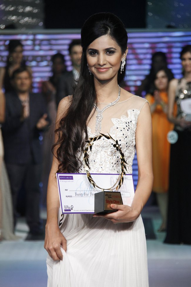 Manveen Singh was crowned the 'Femina Style Diva' at at the grand finale.