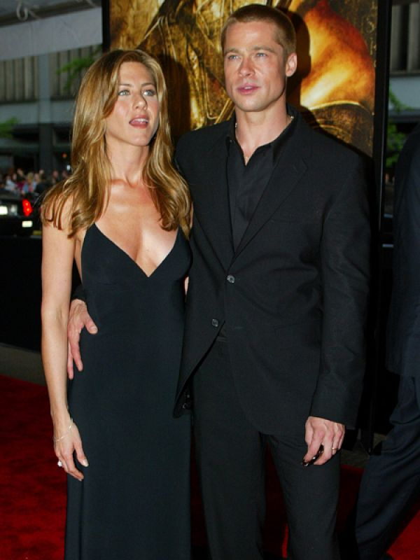 Jennifer Aniston & Brad Pitt