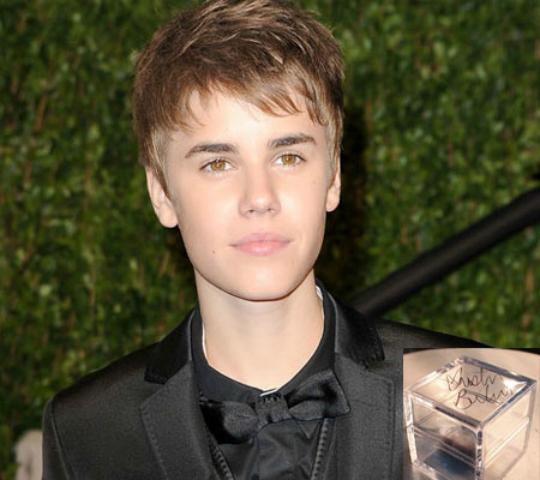 Justin Bieber's Lock Of Hair