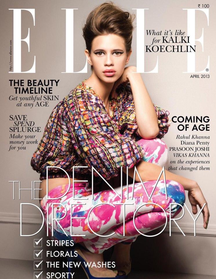 Kalki Koechlin on Elle India