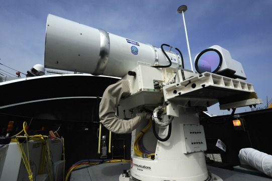 US Navy Readies 'Laser Attack' Weapon