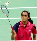 P.V. Sindhu Enters Quarters