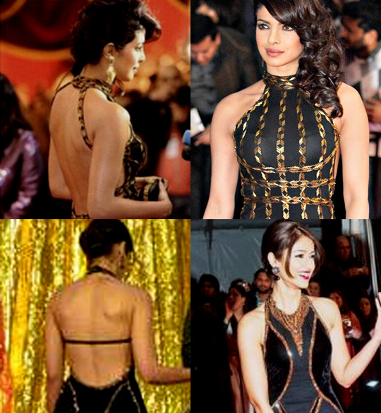 Priyanka Chopra and Ileana D'Cruz flaunted their sexy backs in scintillating backless gowns at  the recently concluded TOIFA 2013 Awards. Time to treat our eyes on  other B-Town hotties in bare-back moments...