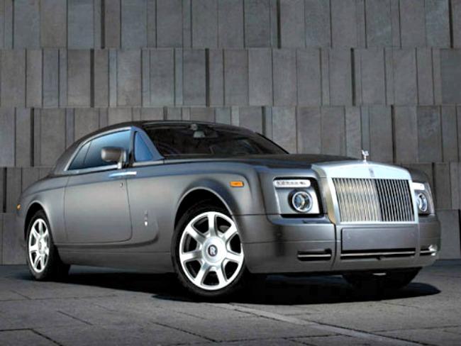 Rolls-Royce Phantom Coupe: INR 4 Crore