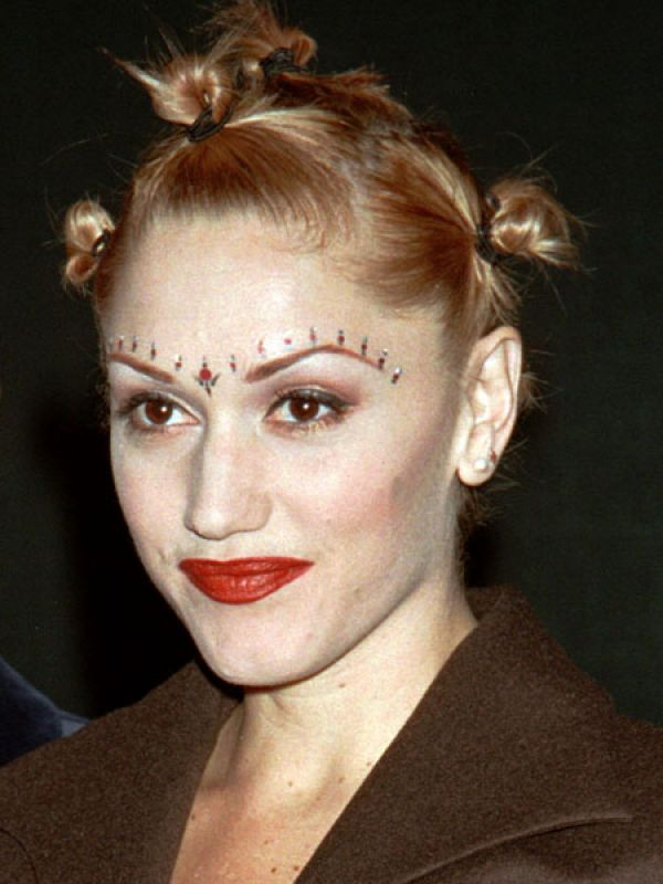Gwen Stefani: This blonde singer of the band No Doubt popularised bindis in the mid 1990s.
