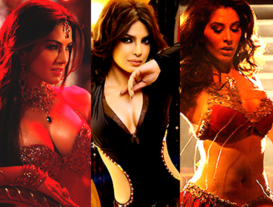 Shootout At Wadala's three item songs have three hotties - Sunny Leone, Priyanka Chopra and Sophie Chaudhary. Check out the seductresses in their tempting avatars here, and tell us who looks the sexiest...