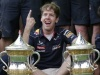 PICS: Sebastian Vettel Wins Bahrain Grand Prix