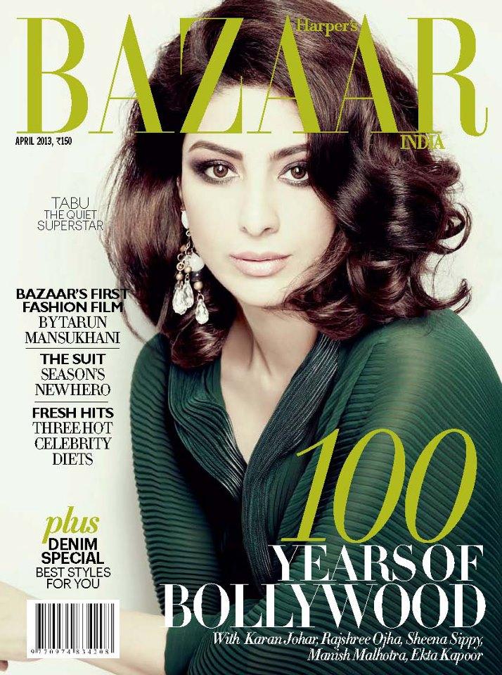 Tabu on Harper's Bazaar India