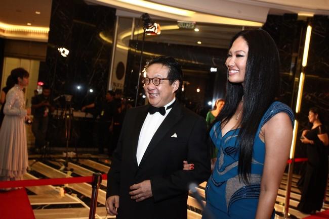Tan Sri Francis Yeoh with Kimora Lee Simmons