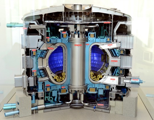 The international nuclear fusion project known as ITER (International Thermonuclear Experimental Reactor), meaning