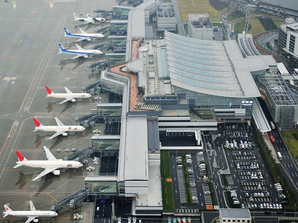 Tokyo International (Haneda)  Once credited by Forbes Traveller as one of the most punctual airports in the world, Haneda also holds the title for being the cleanest.