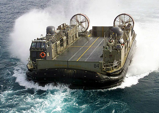 It is used to transport weapons systems, equipment, cargo and personnel of the assault elements of the Marine Air/Ground Task Force both from ship to shore and across the beach. Photo: Reuters