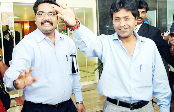 Who's The Boss? - Lalit Modi left no chance to show who the boss was. Sentiments of former test player and Central Zone representative, Narendra Hirwani, were hurt when Modi asked him to leave the VIP enclosure of the Brabourne stadium owing to some ticket issues. If only he knew the fate of the ex-IPL commissioner.