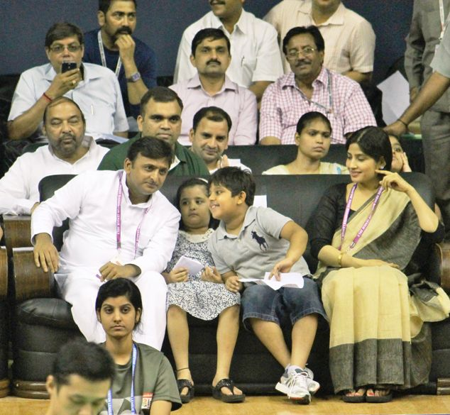 Akhilesh Yadav and Family