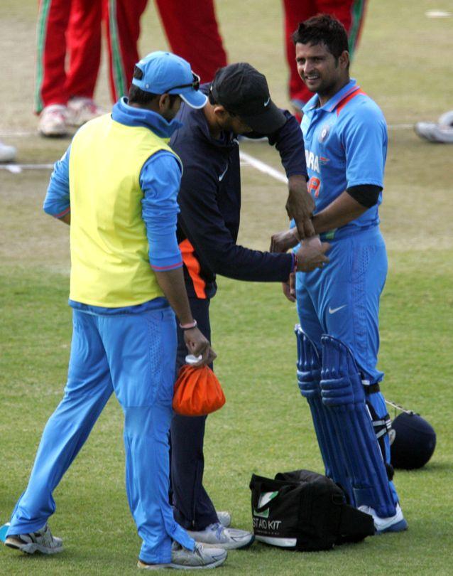 India Crush Zimbabwe