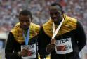 Warren Weir and Usain Bolt