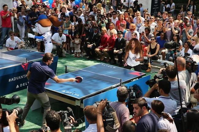 Delta Open Celebrity Table Tennis Tournament