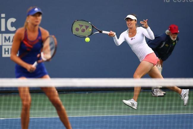 Martina Hingis and Daniela Hantuchova