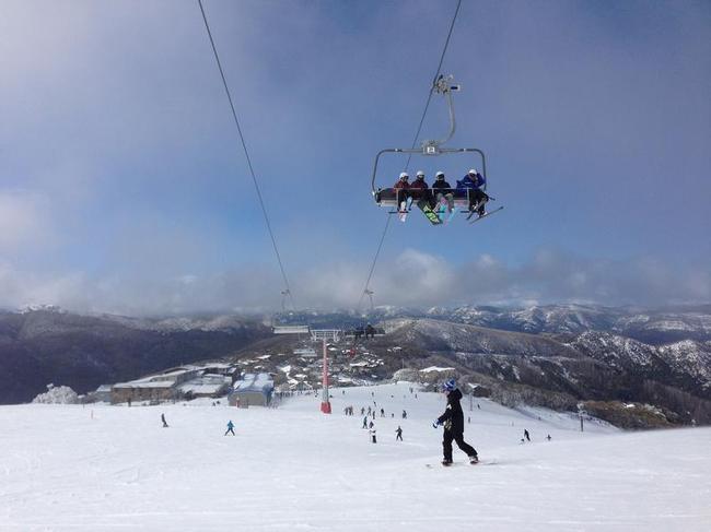 Ski Season At Mount Buller
