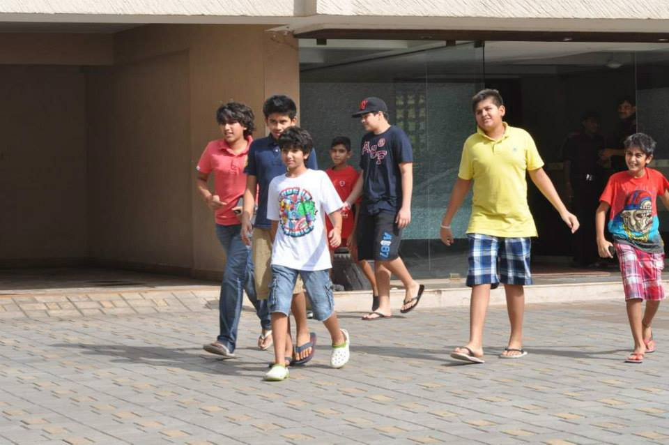 The Gen Next of the Khandaan love their Sallu Chachu