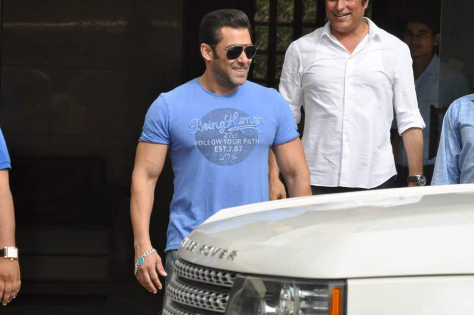 And here comes Salman Khan