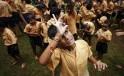 Visually Impaired Kids Break Dahi Handi