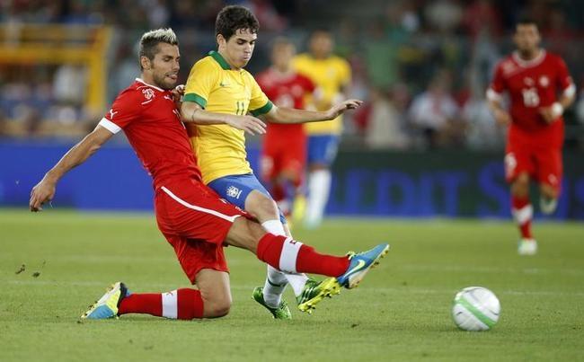 Switzerland Stun Brazil