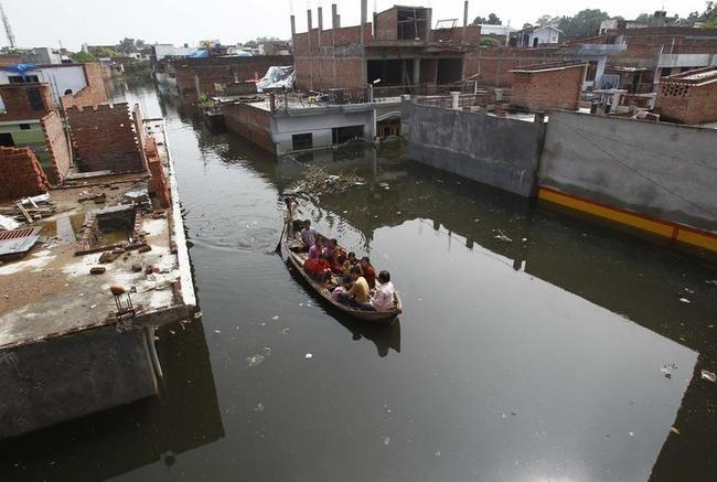 Allahabad Gets Heavily Flooded: PICS