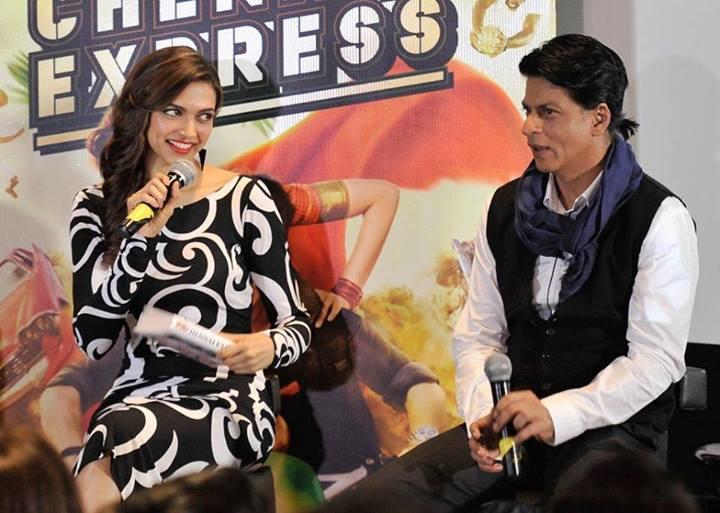 Deepika Padukone, SRK