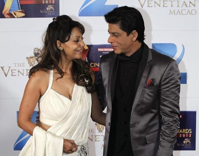 Shah Rukh Khan and his wife Gauri Khan