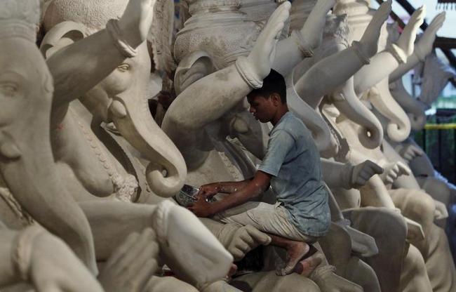 Mumbai Gears up For Ganesh Festival