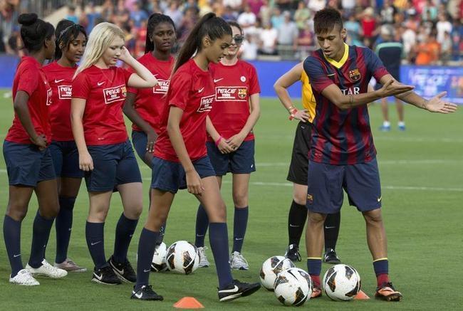 Neymar in Israel