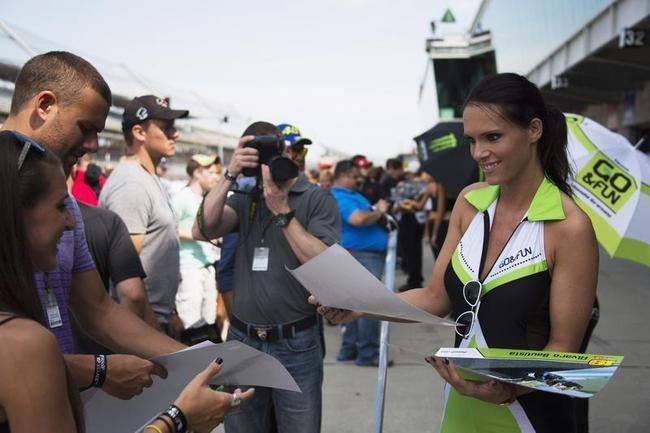 Grid Girls at Indianapolis MotoGP