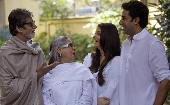 Amitabh Bachchan and his son Abhishek